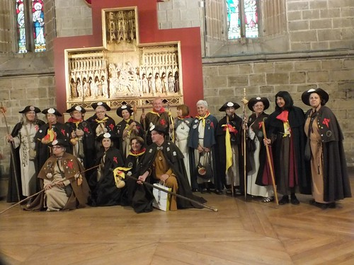 Pamplona, peregrinos, catedral