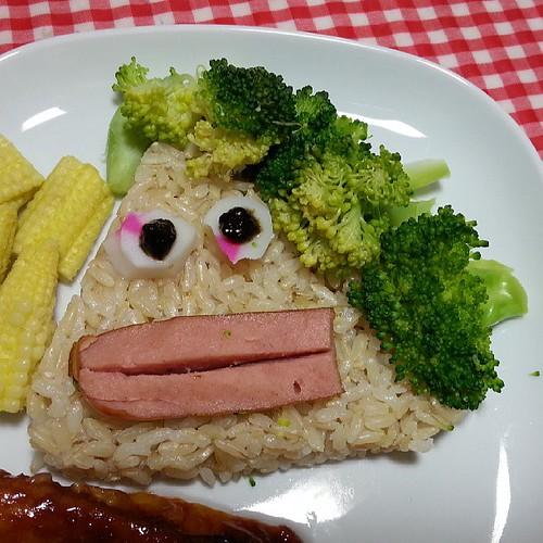 中秋早餐特別版-花媽飯糰