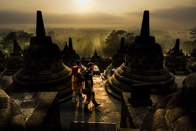 Borobudur's sunrise