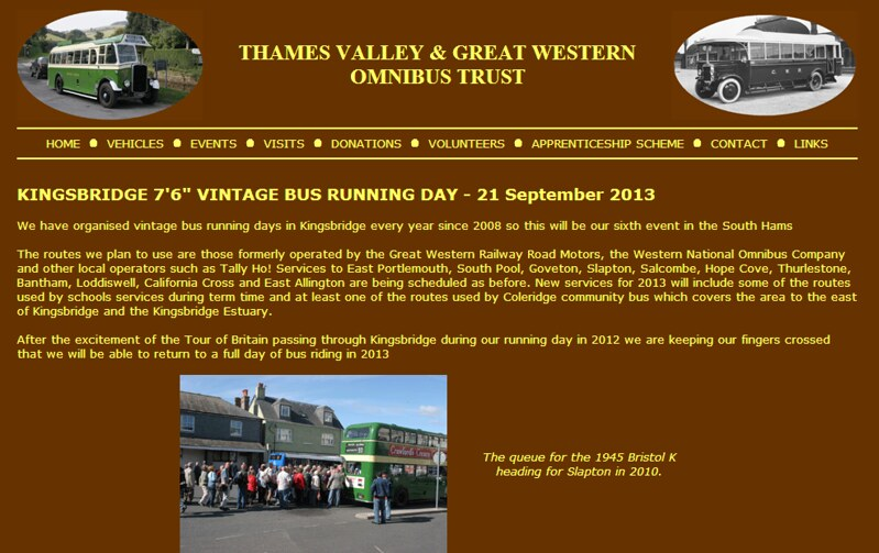 Thames Valley   Great Western Omnibus Trust