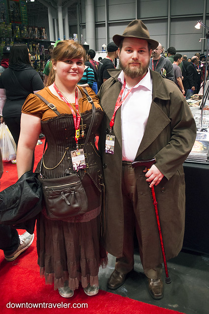 NY Comic Con Couples Costume Steampunk