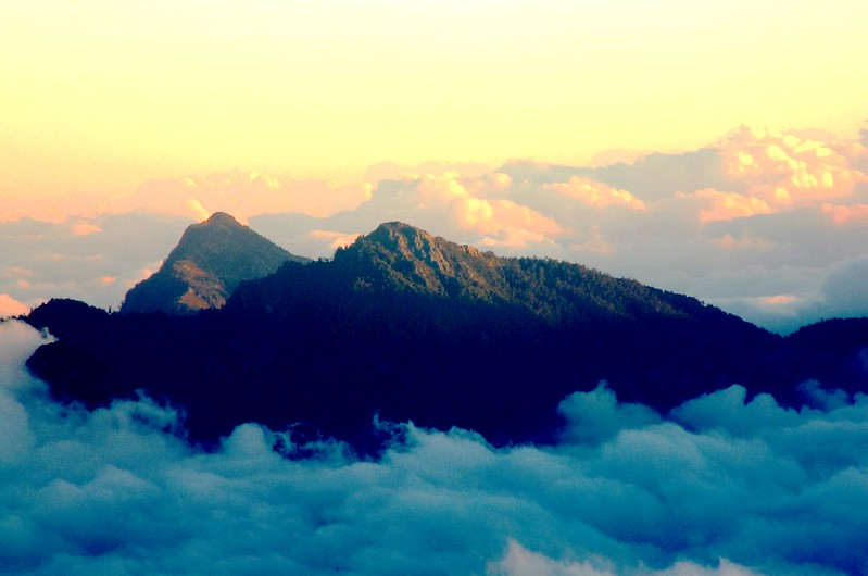 立霧主山、帕托魯山(From 無明山西峰)