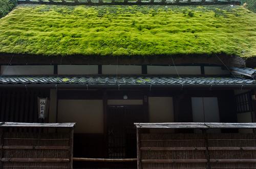 みどりいろの屋根 by ja1dql
