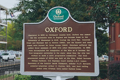 Oxford Plaque