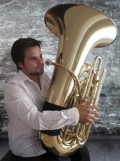 Oscar Abella - Holton CC Tuba - John Fletcher