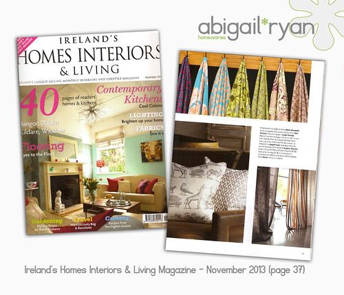Ireland's Homes Interiors & Living Magazine - NOV 2013