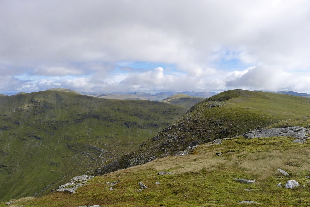 Towards Beinn an Dothaidh's summit
