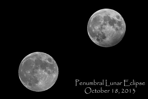 Penumbral Eclipse Comparison by KAM918