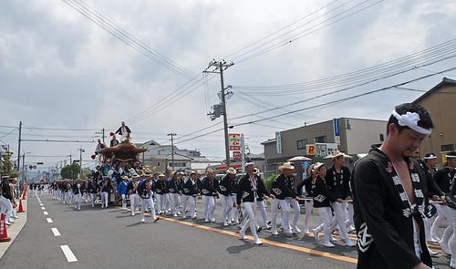 Kishiwada Danjiri Matsuri 岸和田だんじり祭 12