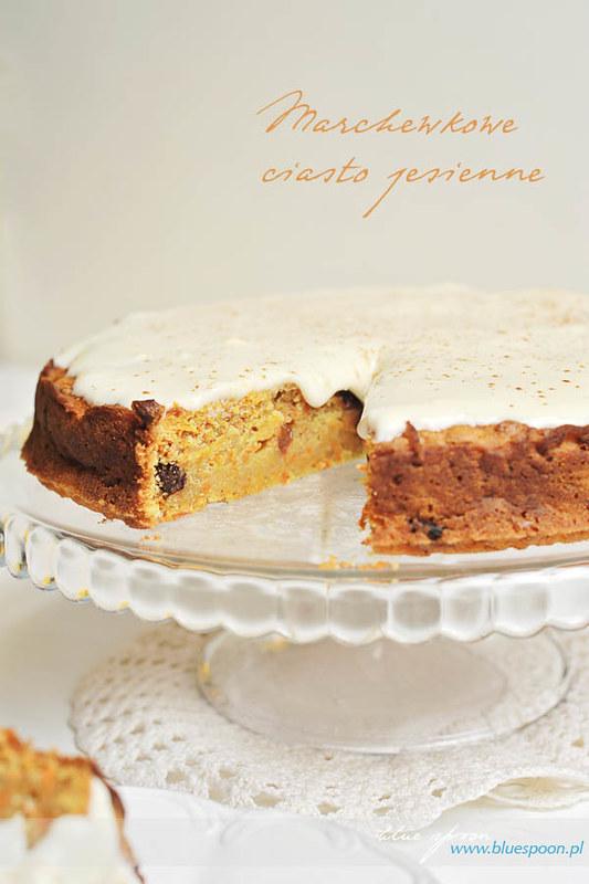 przepis na ciasto z marchwi - blue spoon
