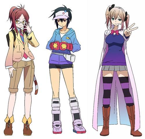 131023(2) – 橫跨ACGN之2014年原創電視動畫《ハマトラ Project》新增3人主角聲優、海報&預告公開中! 2 FINAL