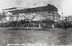 Mr Gilmour's Aeroplane on Hove Lawns
