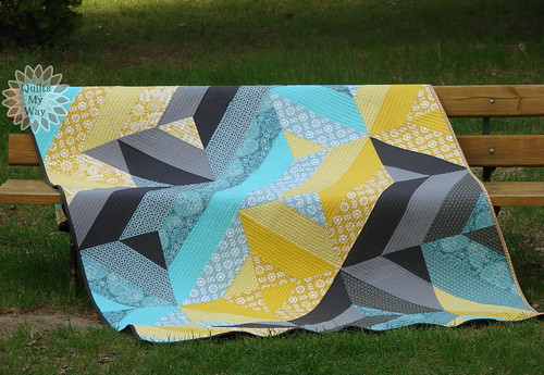 Fancy Fence quilt