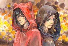 Halloween. Seimei & Witch