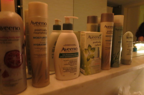 Aveeno products - 70 Park Avenue Hotel