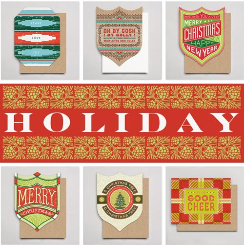 Hammerpress holiday cards