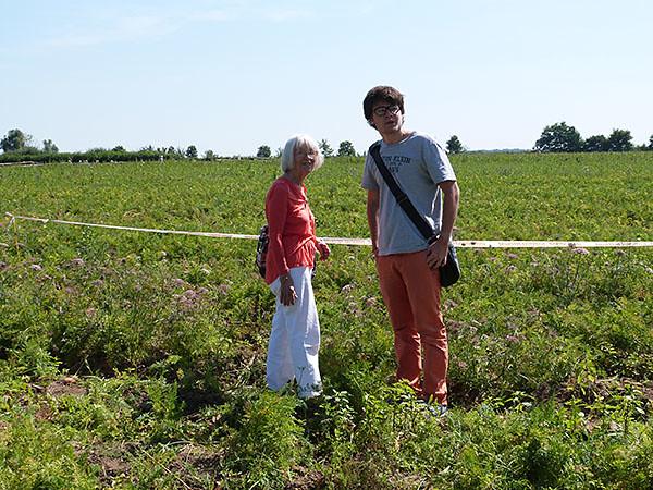 paul et lala dans les champs