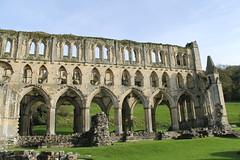Visitting Rievaulx Abbey