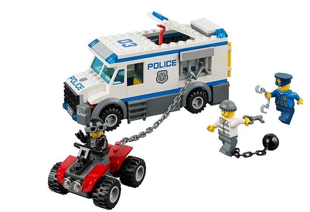 LEGO City 60043 - Prisoner Transport