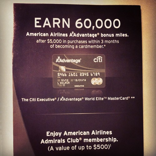 Brochure from the ATL Admirals Club
