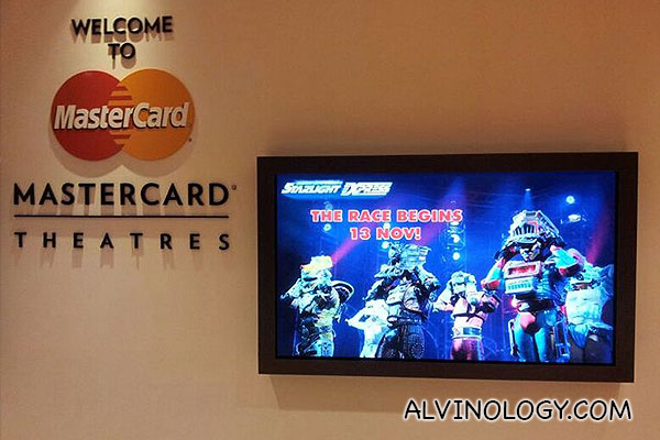 Starlight Express will be showing at Marina Bay Sands MasterCard Theatres from now till 24 Nov 2013