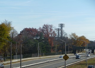 World's Fair towers - Flushing Meadows Corona Park