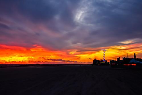 Sunset on Coney Island