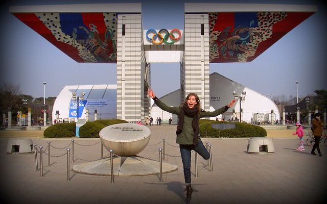 Olympic Park in Seoul