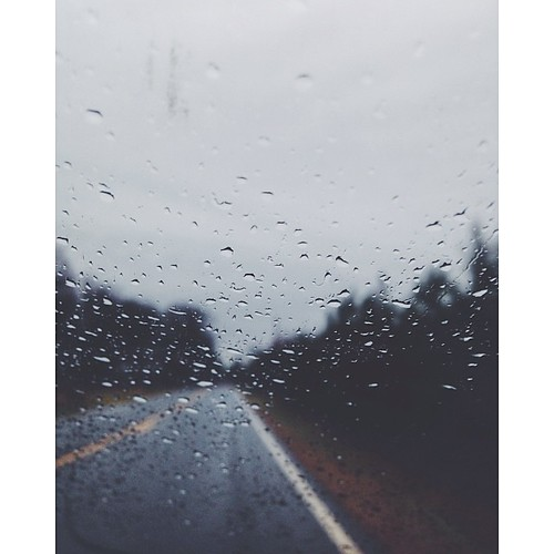 Good morning :) ☔️ #vscocam #vsco #rainy #ontheroad by bford13