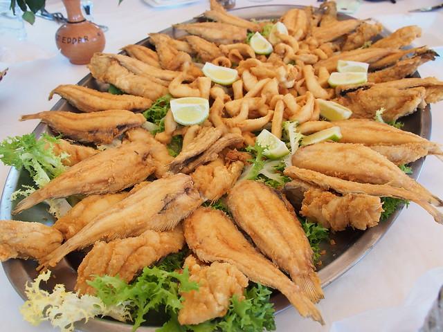 今日午餐-BORJ EDDAR餐廳-海鮮大餐