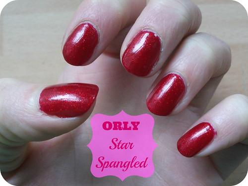 Orly Star Spangled NOTD