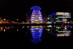 Dublin by night.
