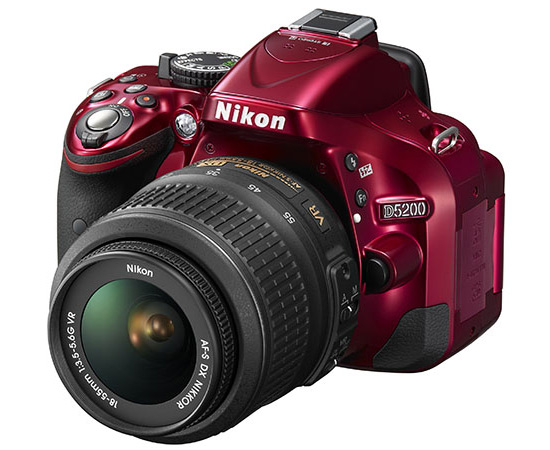 glorious image of nikon DSLR camera