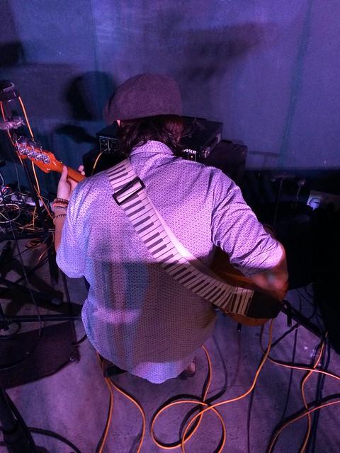 Nelson Tan on bass