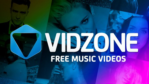 New VidZone Branding