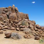 Desert Rocks at Canyon Lodge - Namibia
