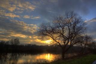 Weser December Sunset 5