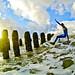 Spray the pier by Danny Bastiaanse