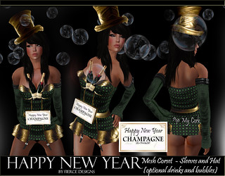 Happy New Year By Fierce Designs