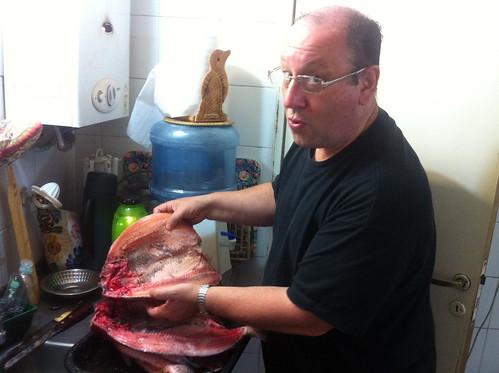 2013-11-24 Asado de Quique, pescado05
