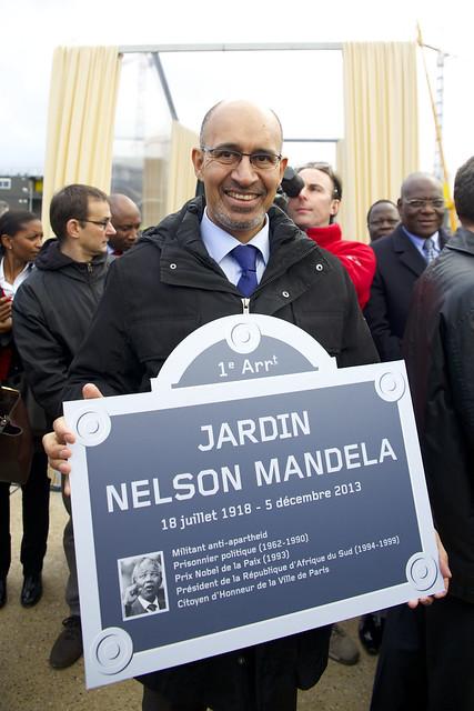2013 12 19 inauguration jardin nelson mandela 5 for Jardin nelson mandela