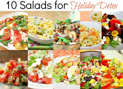 10 Salads for Holiday Detox