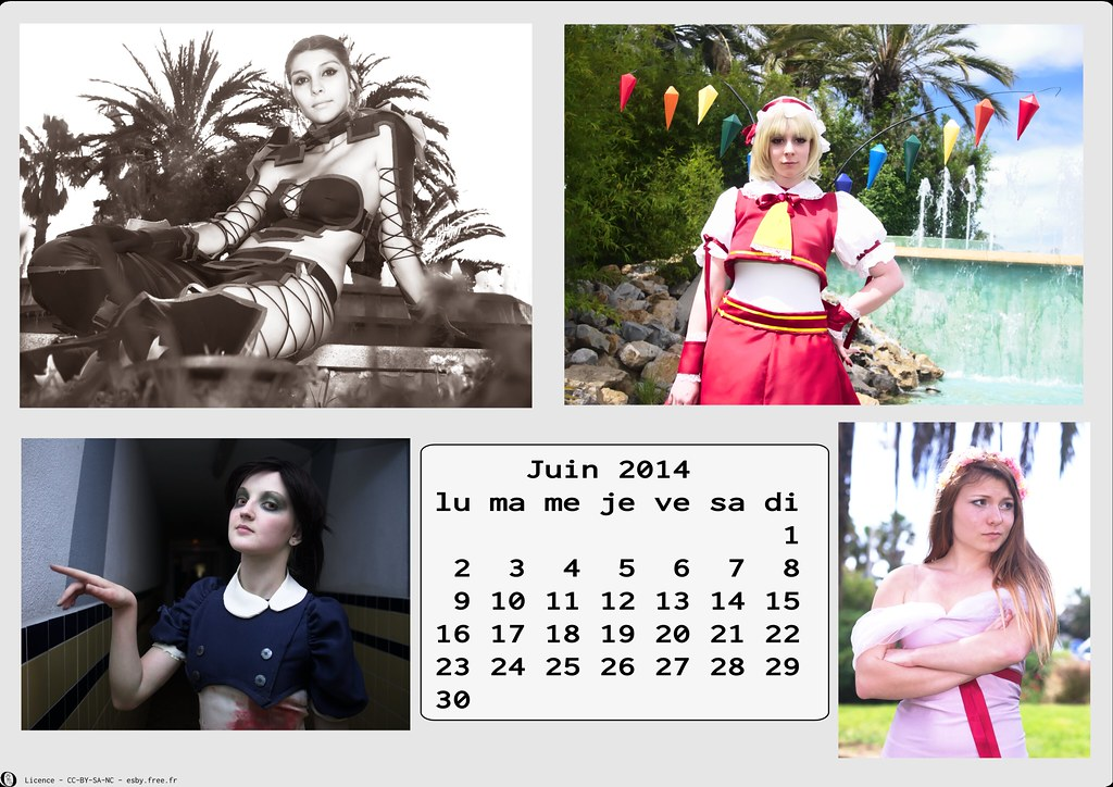 related image - Calendrier Cosplay 2014-06 - Juin