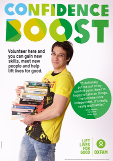 Oxfam Volunteer posters