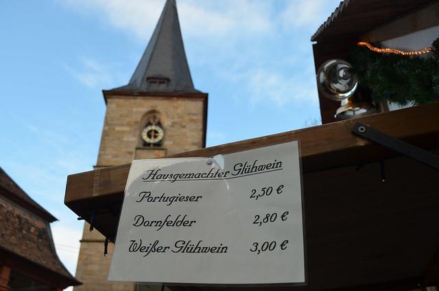 Weihnachtsmarkt Freinsheim Gluhwein menu
