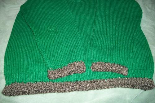 Sweater repairs