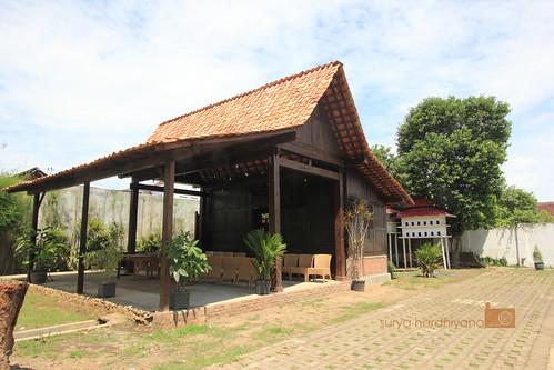 Contoh Rumah Tikel di Shaba Swagatha Blambangan, Banyuwangi