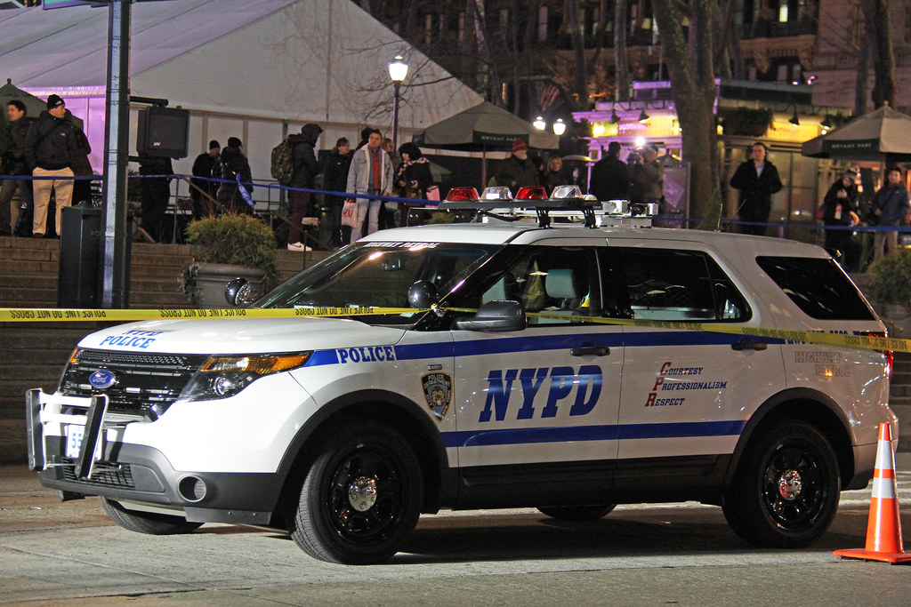 Fatal SUV Accident Outside Bryant Park On Sixth Avenue At 41st Street In NYC On Friday January 17, 2014
