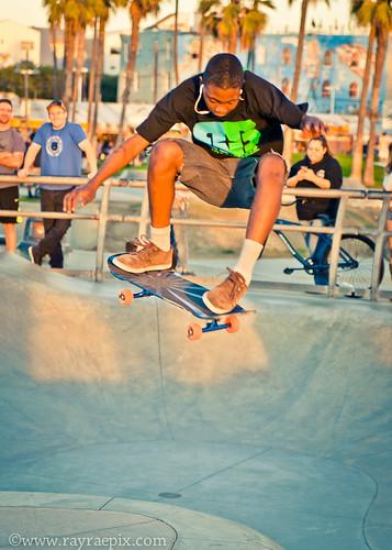 Leontay Sanders Venice Skatepark