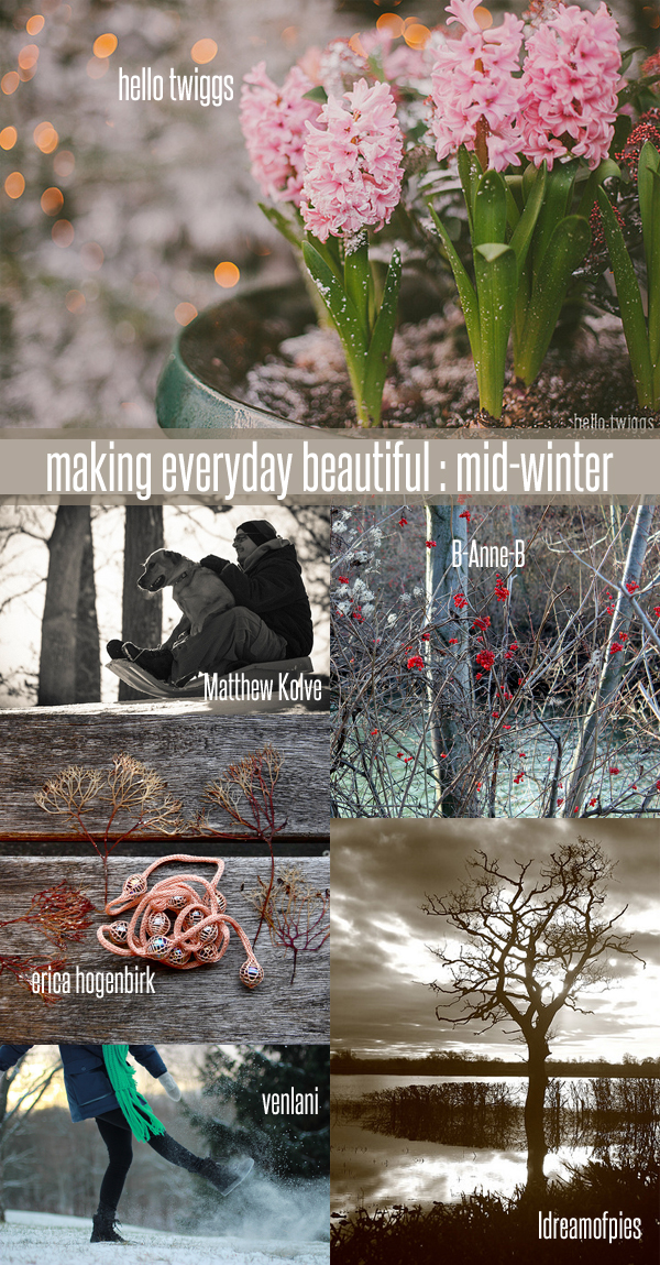 making everyday beautiful : mid-winter | Emma Lamb